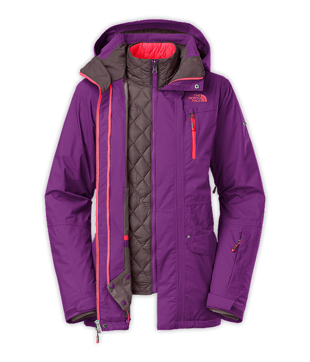 9e31edbe8d74 WOMEN S THERMOBALL™ TRICLIMATE® SNOW JACKET