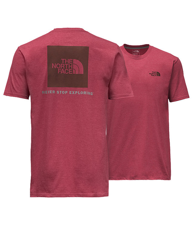 MEN'S SHORT-SLEEVE RED BOX TEE - NEW FIT