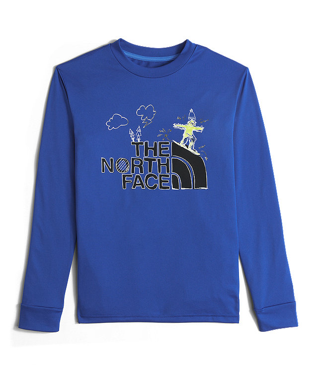 BOYS' LONG-SLEEVE REAXION TEE