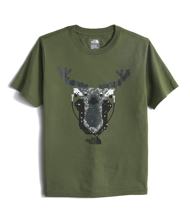 BOYS' SHORT-SLEEVE GRAPHIC TEE
