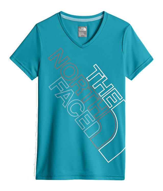 GIRLS' SHORT-SLEEVE REAXION TEE