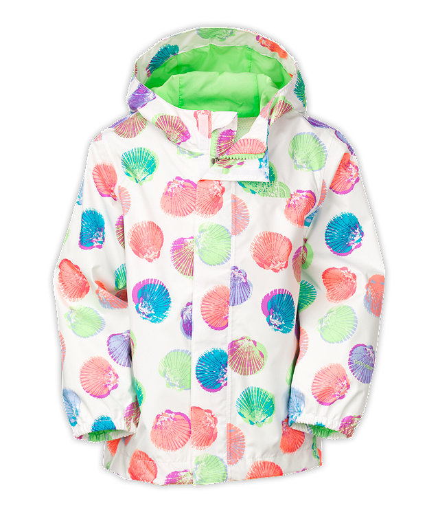TODDLER PRINTED TAILOUT RAIN JACKET