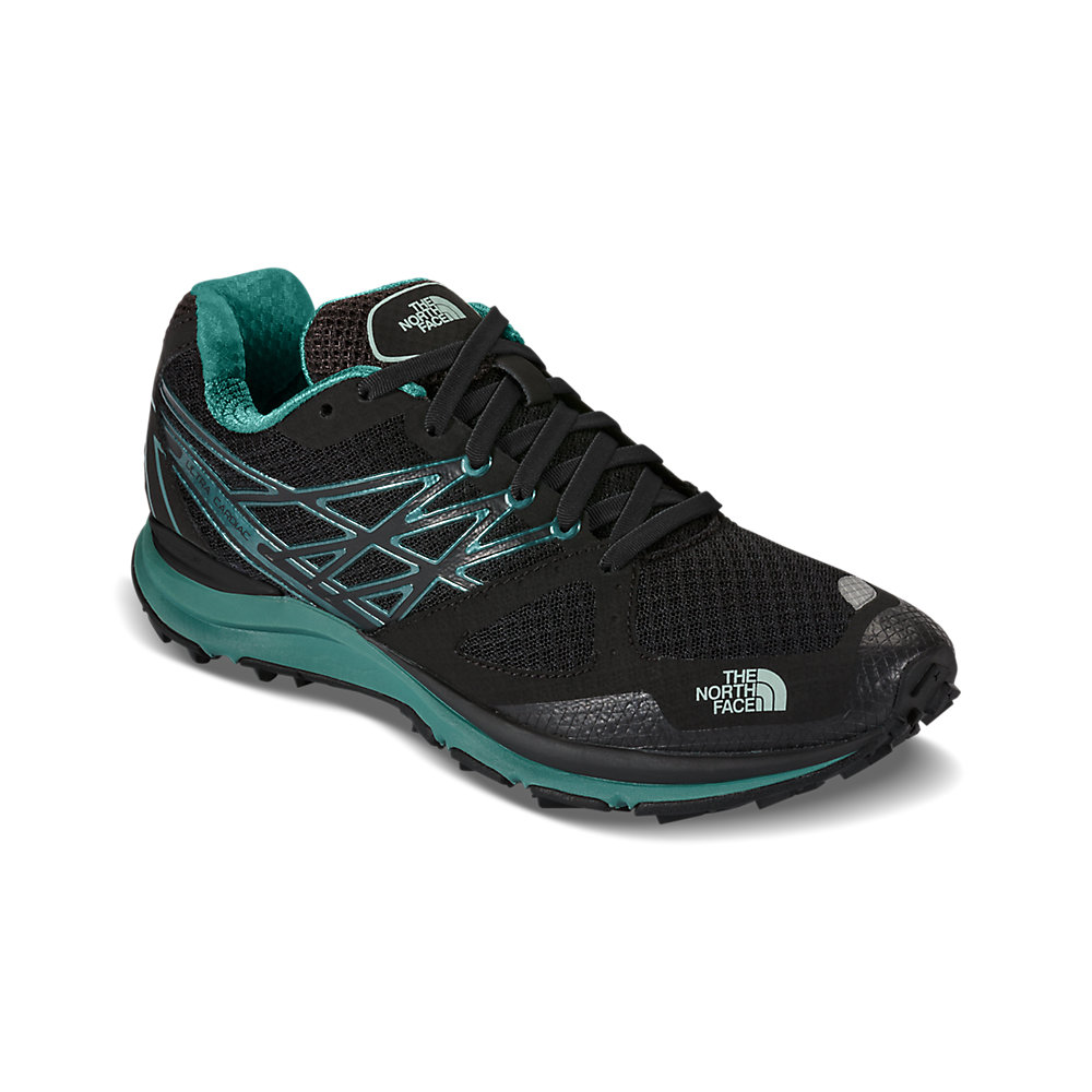 New The North Face Womens Ultra Cardiac Green Running Shoes Size 10.5