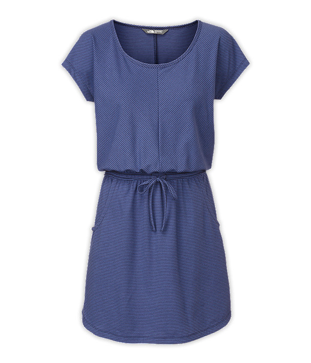 WOMEN'S SHORT-SLEEVE IMPULSE DRESS
