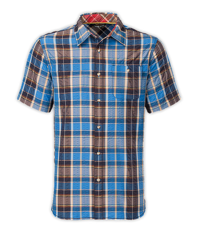 Men 39 s short sleeve alcosta shirt united states for The north face short sleeve shirt
