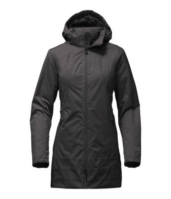 Light black rain jacket