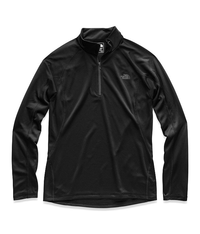 MEN'S WARM LONG-SLEEVE ZIP NECK