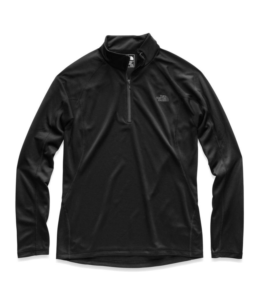 MEN'S WARM LONG-SLEEVE ZIP NECK-