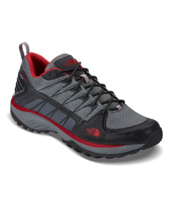 The North Face - Litewave Fp Gtx - Mens Hiking Shoes Online - Phantom Grey/Black