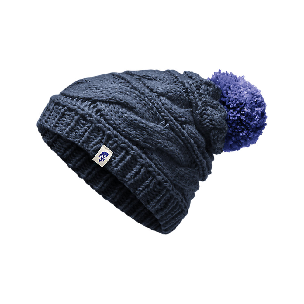 44035823756 WOMEN S TRIPLE CABLE POM BEANIE