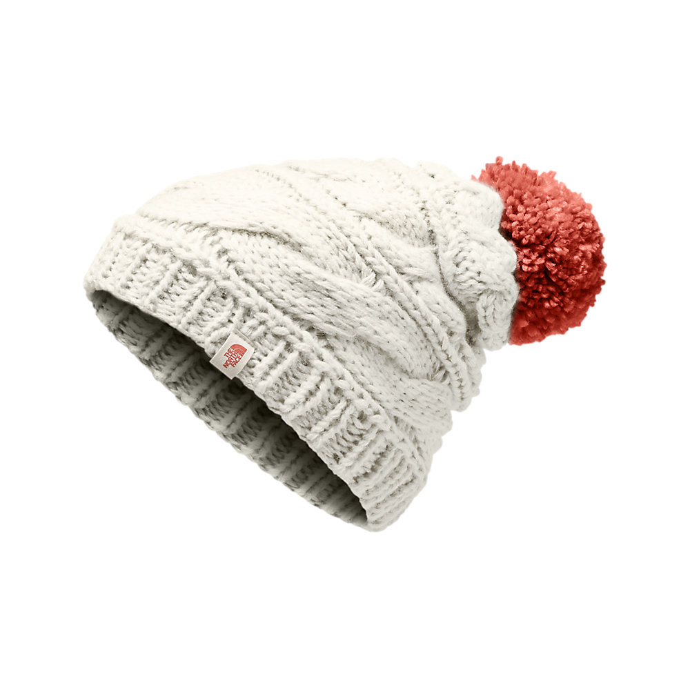 WOMEN S TRIPLE CABLE POM BEANIE  891a8dc60689