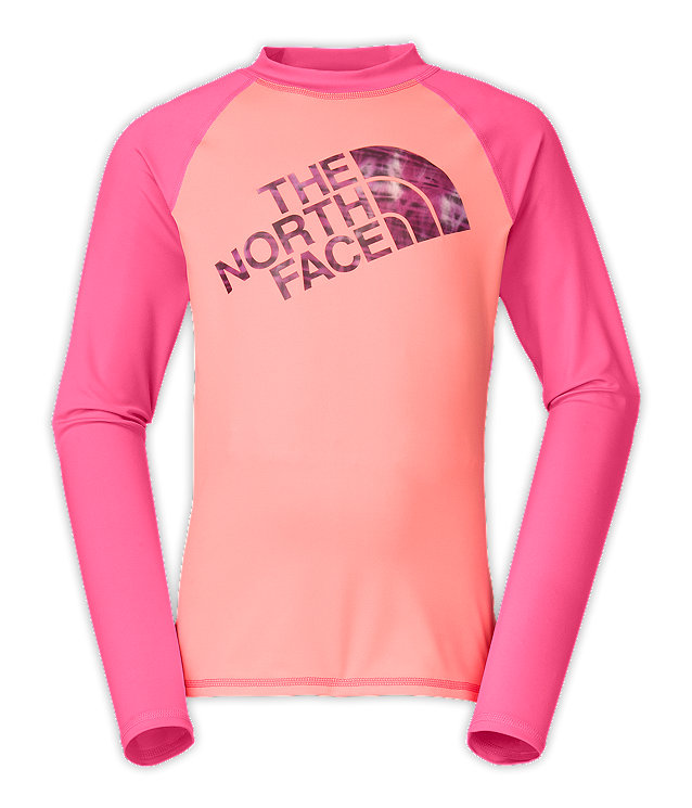 GIRLS' DOGPATCH LONG-SLEEVE SLEEVE RASH GUARD