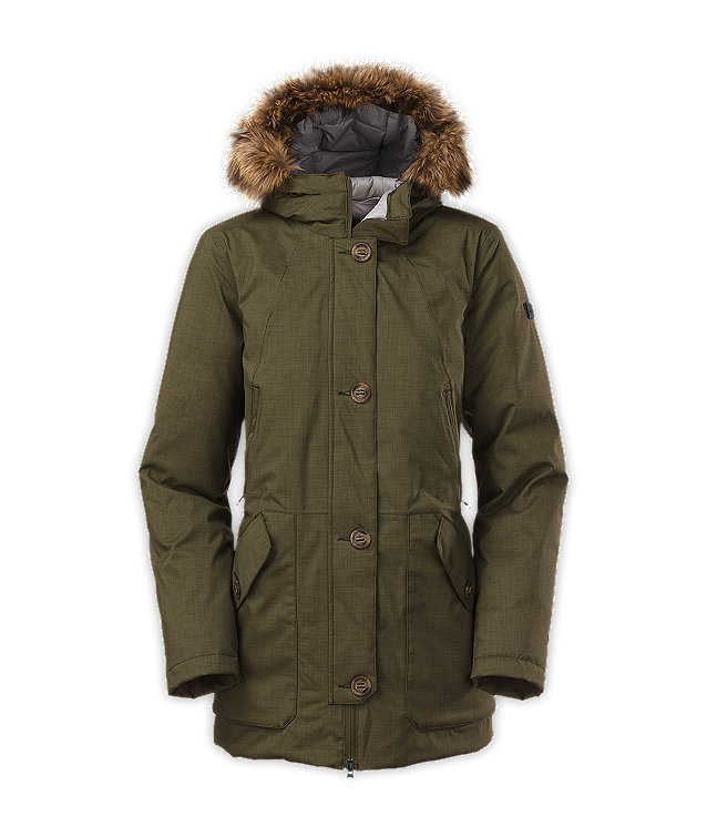North face womens parka xxl