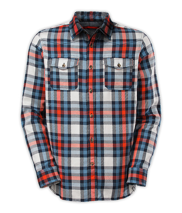Mens long sleeve hayes flannel canada mens long sleeve hayes flannel sciox Images