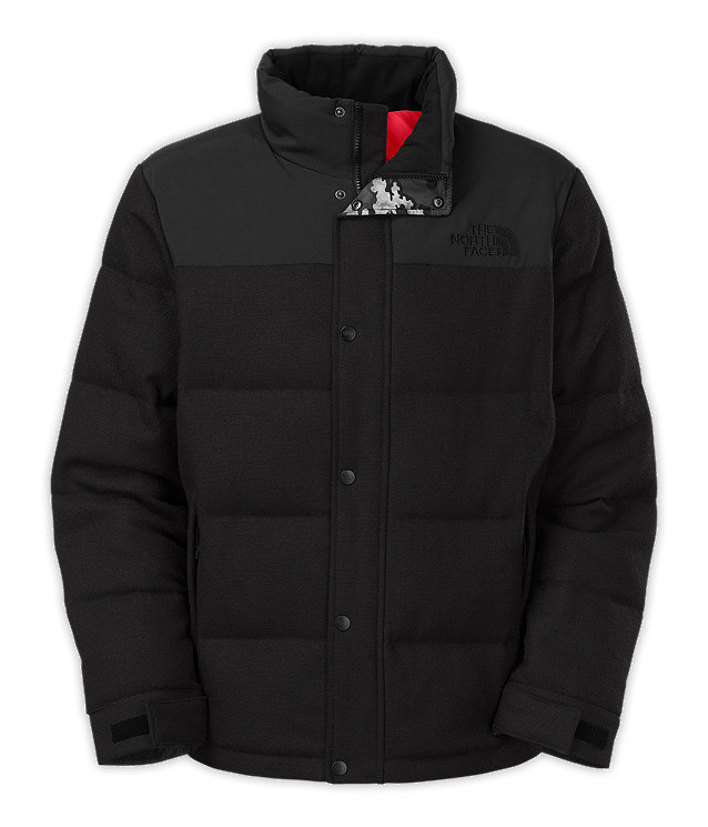 MEN'S TWEED NUPTSE HEIGHTS JACKET
