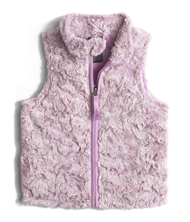 TODDLER GIRLS' COZY SWIRL VEST