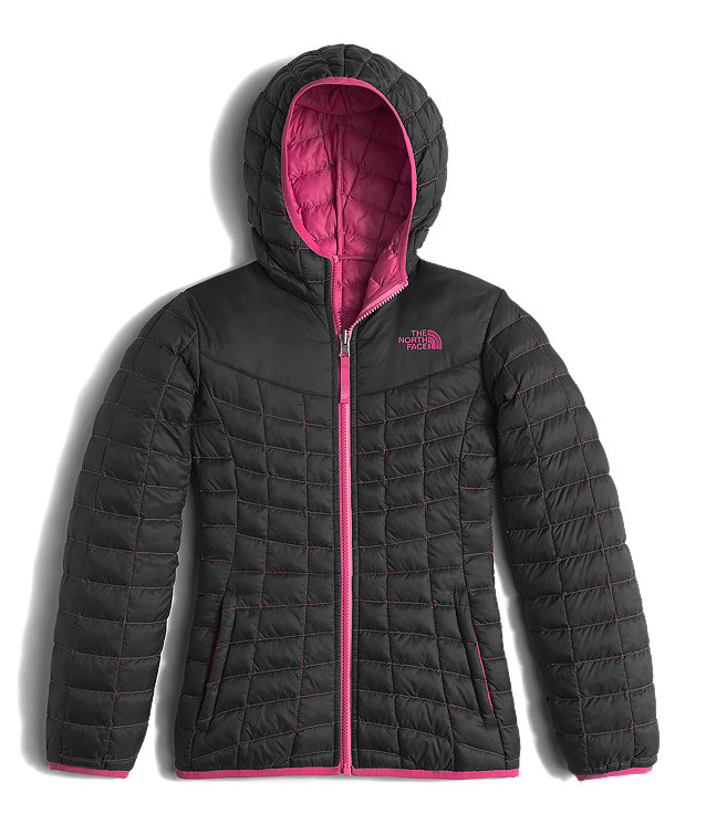 GIRLS' REVERSIBLE THERMOBALL HOODIE