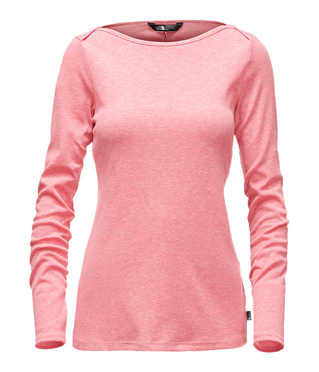 WOMEN'S LONG-SLEEVE EZ RIBBED TOP