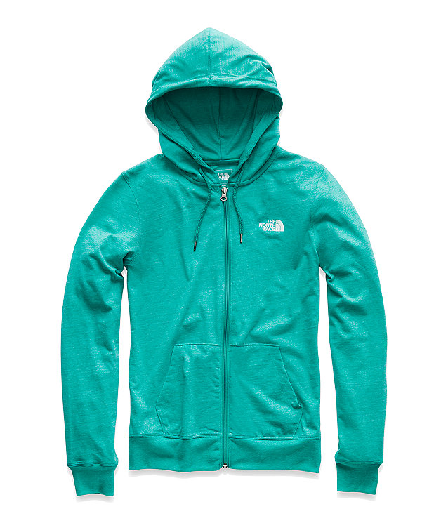 WOMEN'S LITE WEIGHT FULL ZIP HOODIE