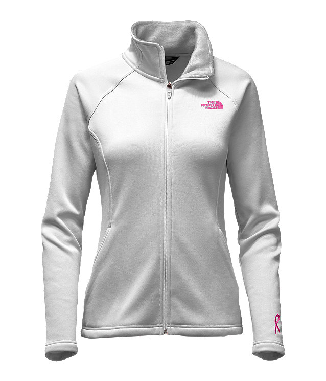 WOMEN'S PINK RIBBON AGAVE FULL ZIP