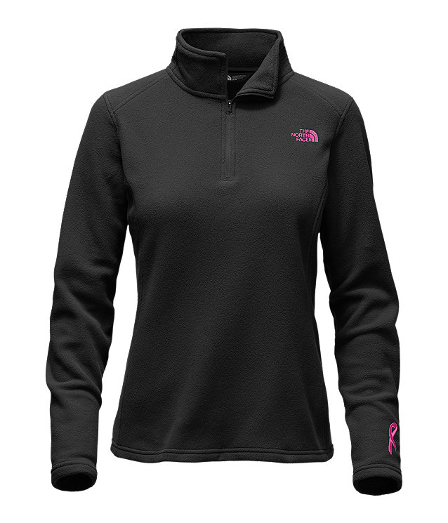 WOMEN'S PINK RIBBON GLACIER ¼ ZIP