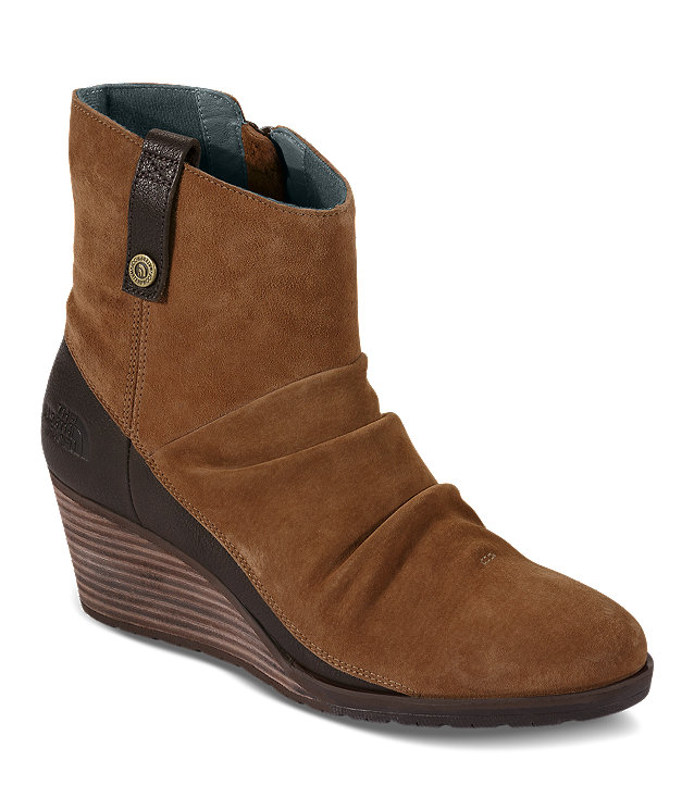 WOMEN'S BRIDGETON WEDGE ZIP BOOTS