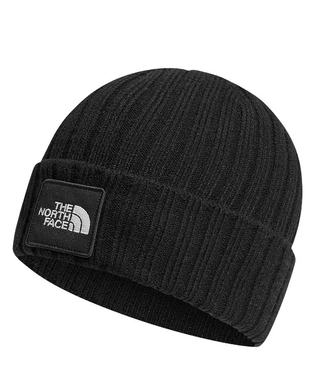 TNF™ LOGO BOXED CUFFED BEANIE