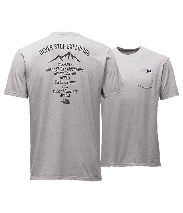 MEN'S SHORT-SLEEVE NATONAL PARKS ON-TOUR POCKET TEE