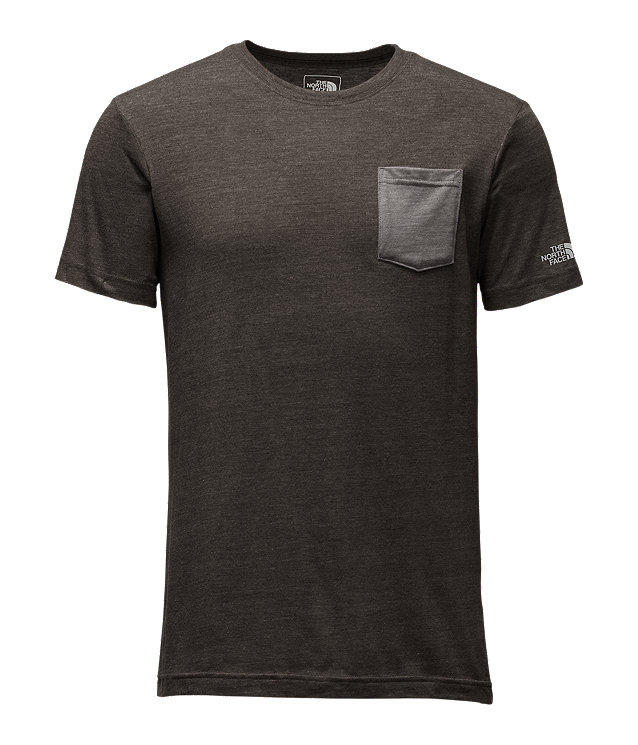 MEN'S SHORT-SLEEVE TRI-BLEND POCKET TEE