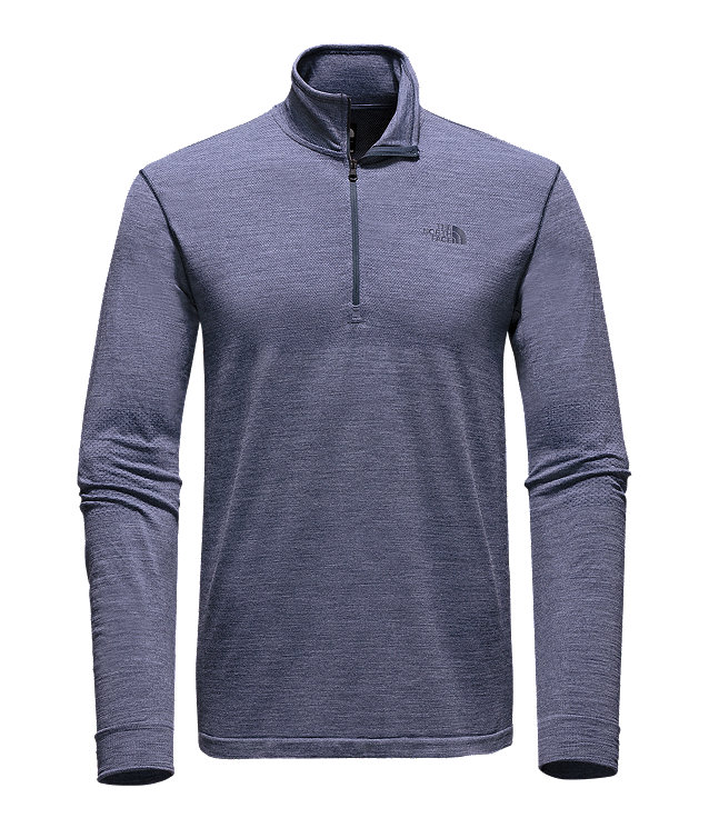 MEN'S LONG-SLEEVE ENG WOOL ¼ ZIP