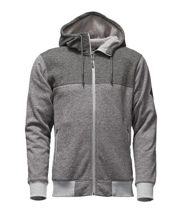 MEN'S TECH SHERPA FULL ZIP HOODIE