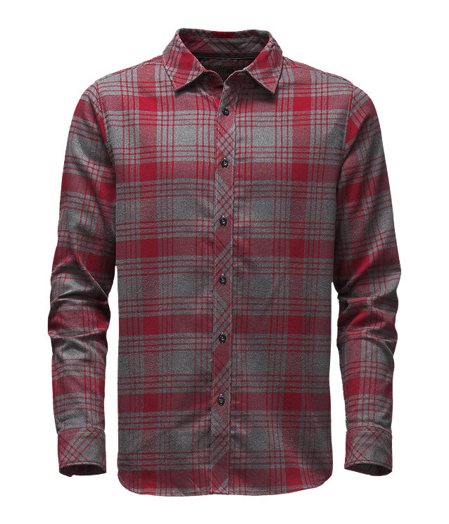 MEN'S LONG-SLEEVE APPROACH FLANNEL