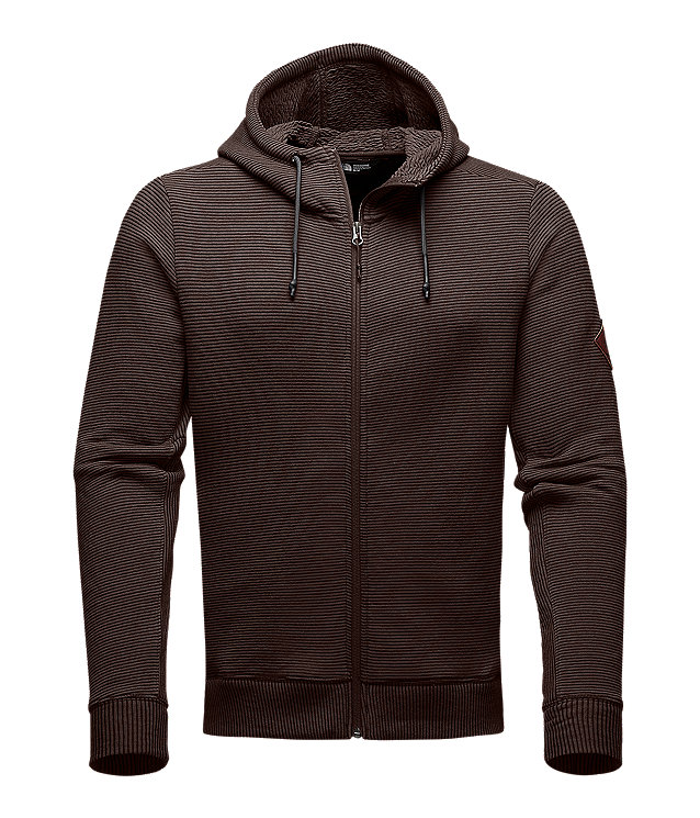 MEN'S THERMAL COTTON FULL ZIP HOODIE