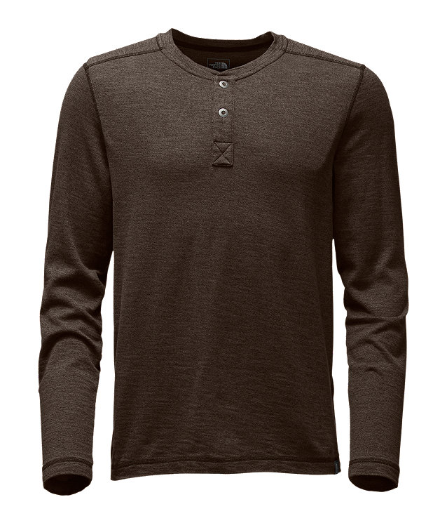 MEN'S LONG-SLEEVE COPPERWOOD HENLEY