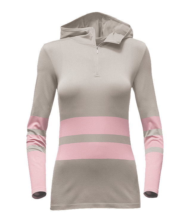 WOMEN'S LONG-SLEEVE SSK HOODED TOP