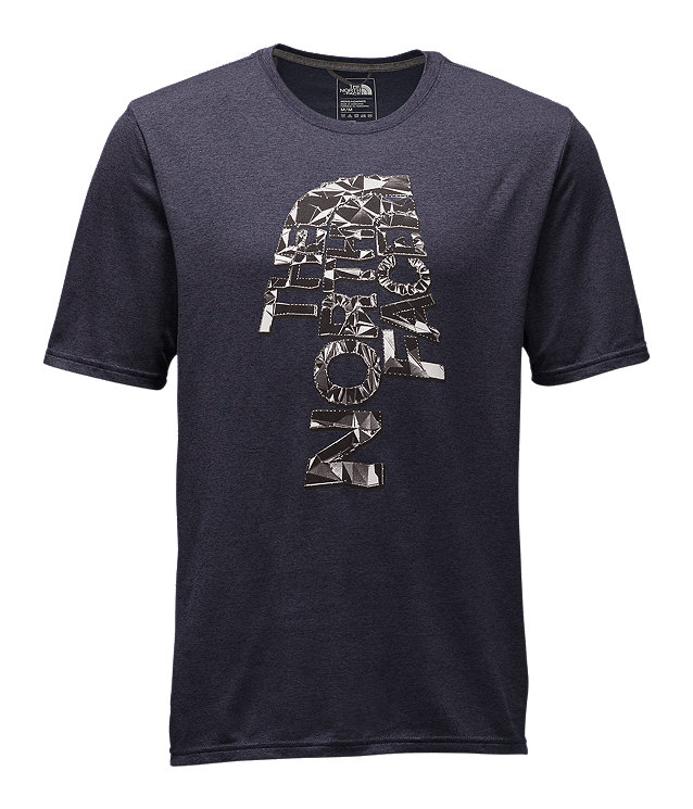 MEN'S FRACTURED SHORT-SLEEVE REAXION CREW