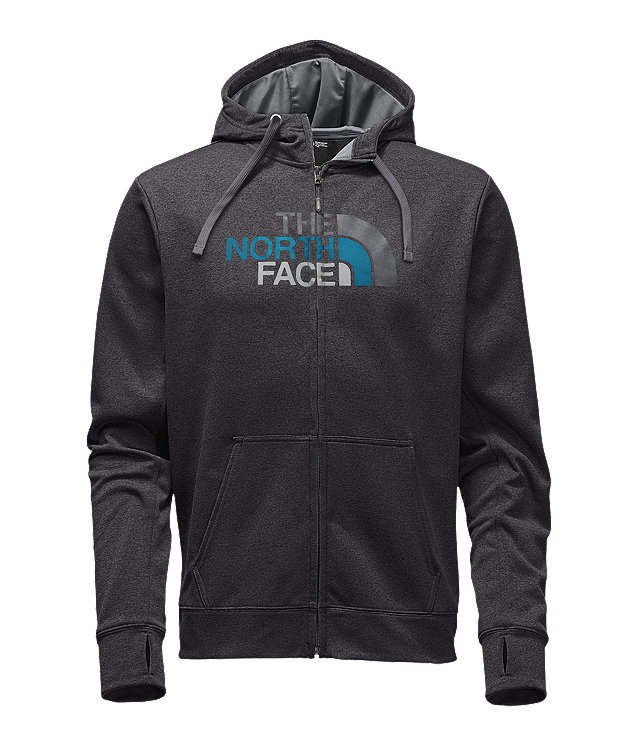 MEN'S SURGENT HALF DOME FULL ZIP HOODIE