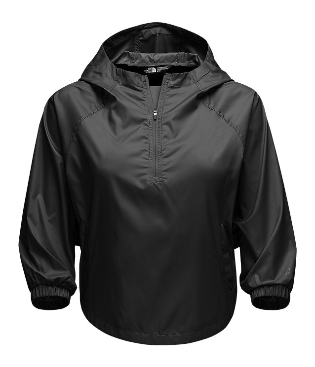 WOMEN'S GYMSET CROP ANORAK JACKET