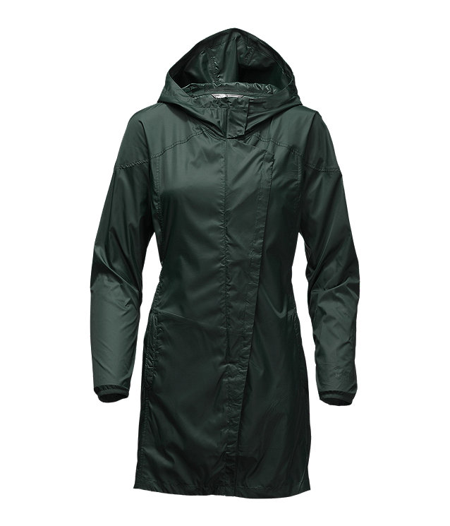 WOMEN'S GYMSET TRENCH JACKET