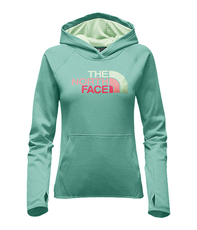 WOMEN'S FAVE HALF DOME PULLOVER HOODIE