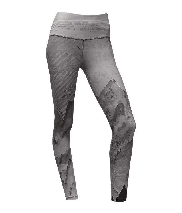 WOMEN'S HIGH WAISTED PRINTED LEGGINGS