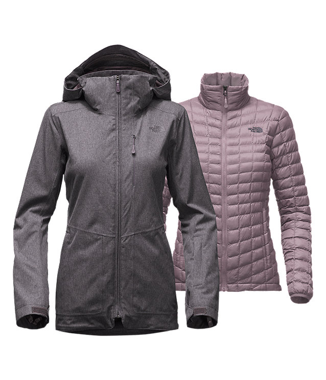PARKA THERMOBALL<SUP>MC</SUP> SNOW TRICLIMATE® POUR FEMMES