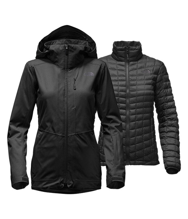 3980d5e66 WOMEN'S THERMOBALL™ SNOW TRICLIMATE® PARKA