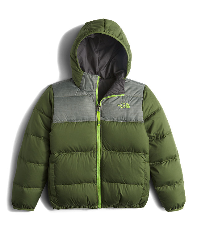 BOYS' REVERSIBLE MOONDOGGY DOWN JACKET