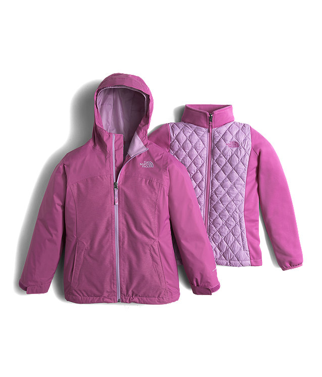 GIRLS' THERMOBALL™ TRICLIMATE® JACKET