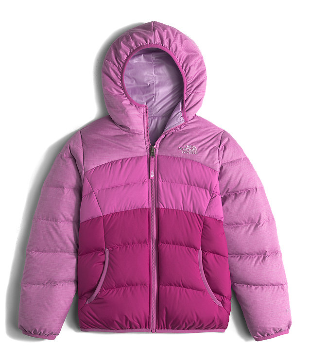 GIRLS' REVERSIBLE MOONDOGGY DOWN JACKET