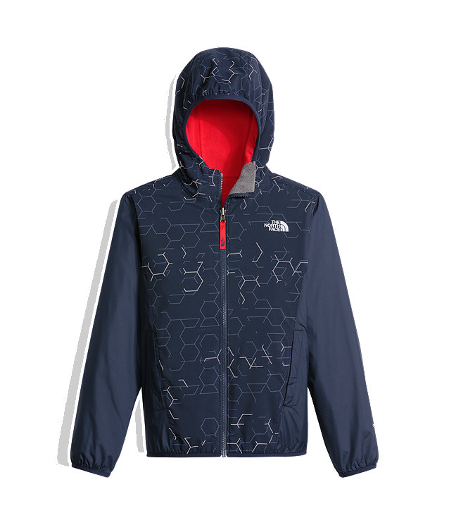 BOYS' REVERSIBLE BREEZEWAY WIND JACKET