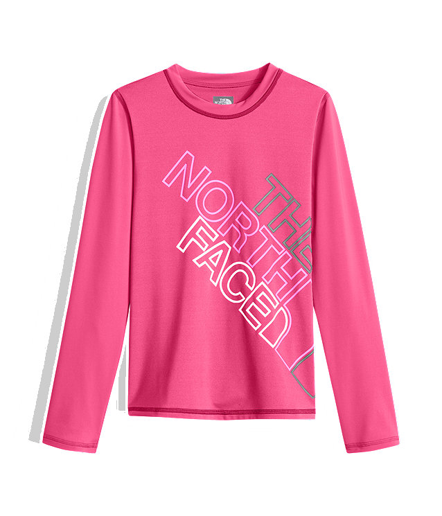 GIRLS' LONG-SLEEVE HIKE/WATER TEE