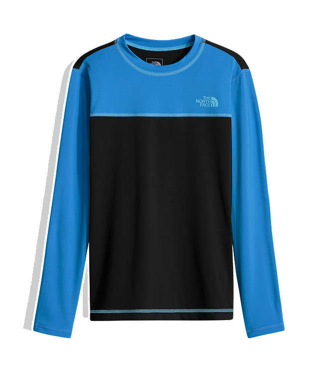 BOYS' LONG-SLEEVE HIKE/WATER TEE