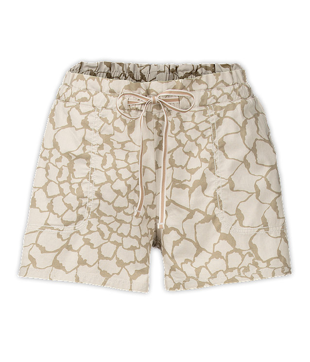 WOMEN'S PEAK 2 PUB SHORT DUNE BEIGE